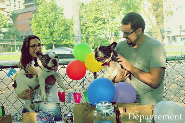 Festa de aniversário home made festa pet Maquiavel Foucault Dépaysement001