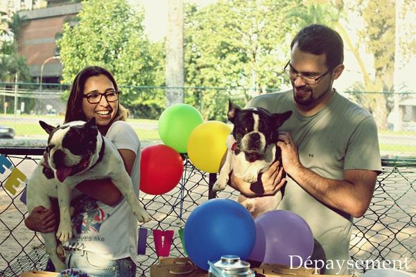 Festa de aniversário home made festa pet Maquiavel Foucault Dépaysement270
