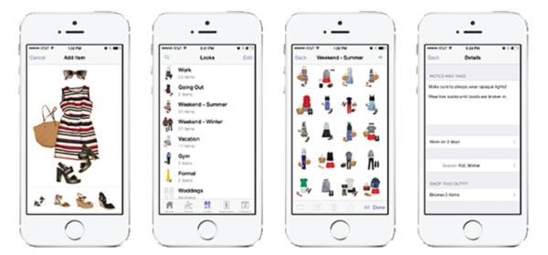 app para organizar armário e mala