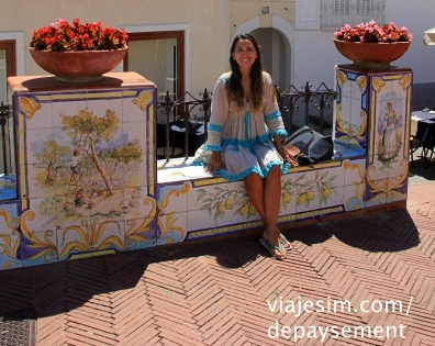 Compras em Capri compras costa amalfitana Positano Antica SartoriaIMG_2241