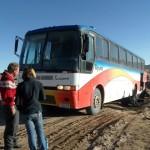 La Paz-Uyuni em ônibus turístico