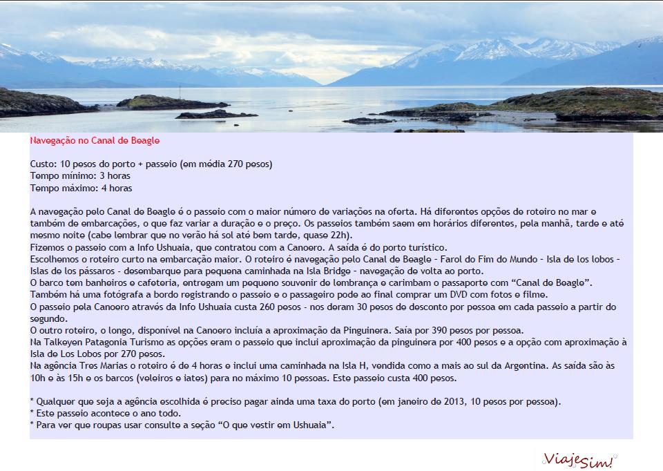 Guia de Ushuaia