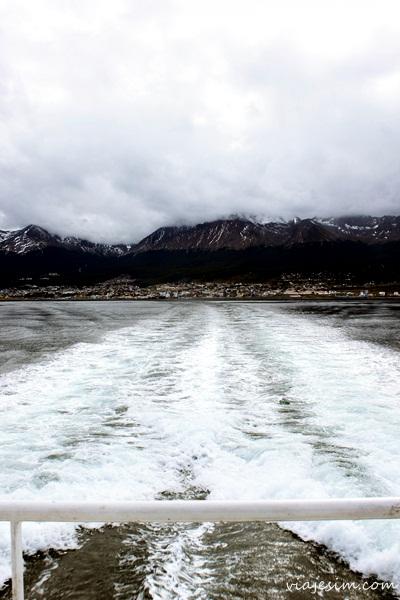 Ushuaia Canal de Beagle Farol islas Bridge