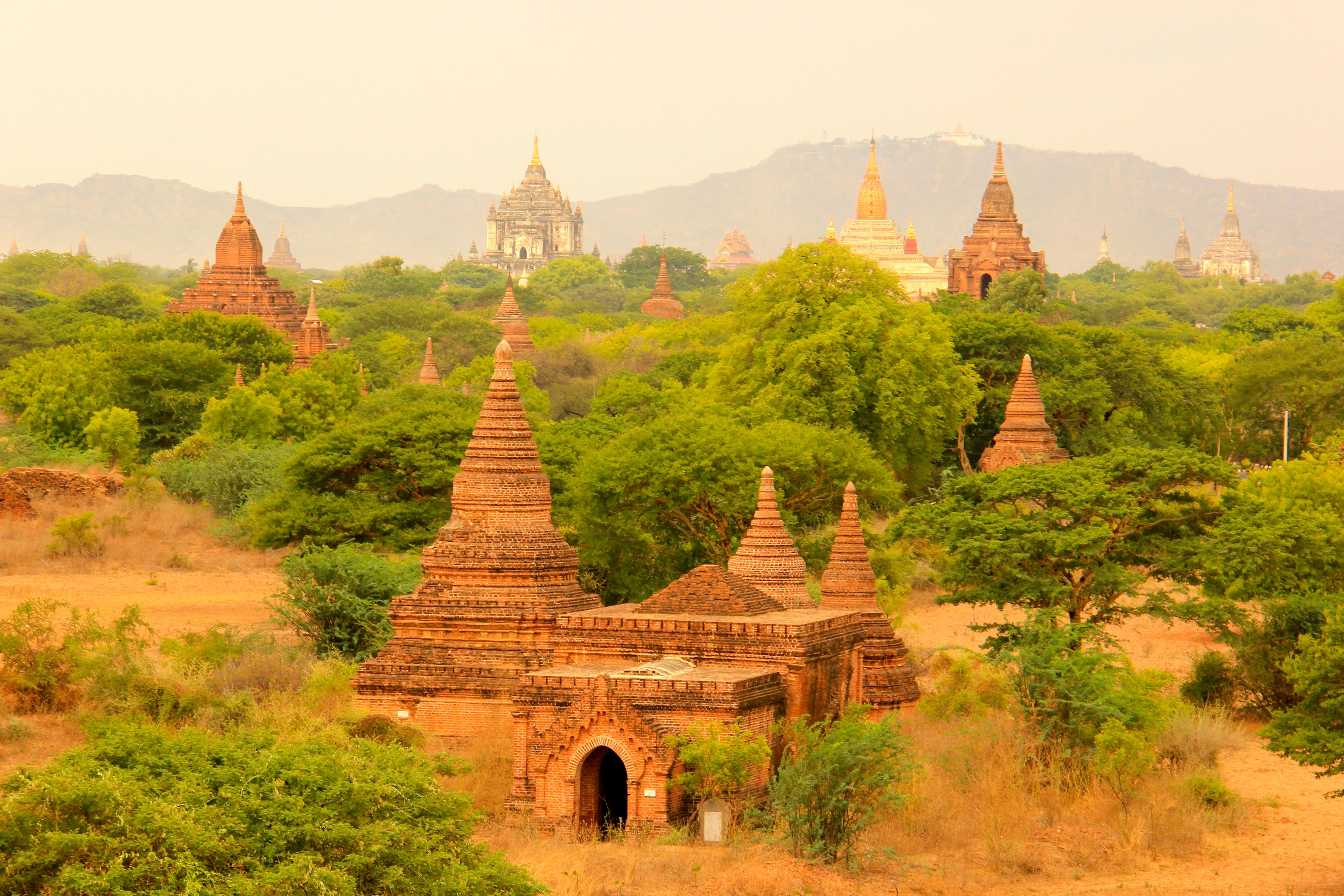 A incrível Bagan e seus 3 mil templos