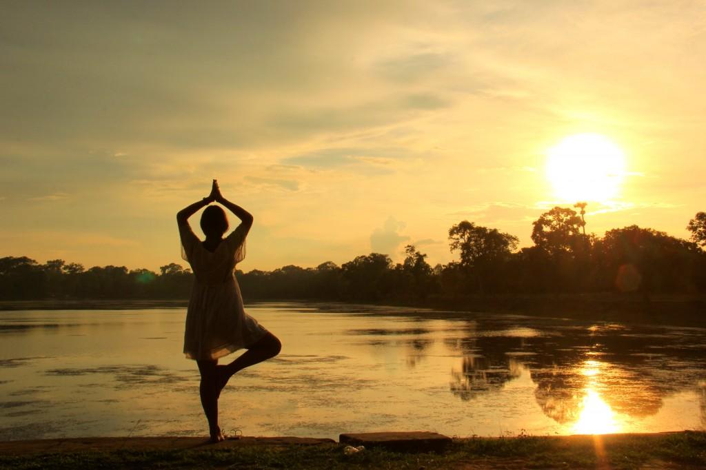 Fim do dia em Siem Reap