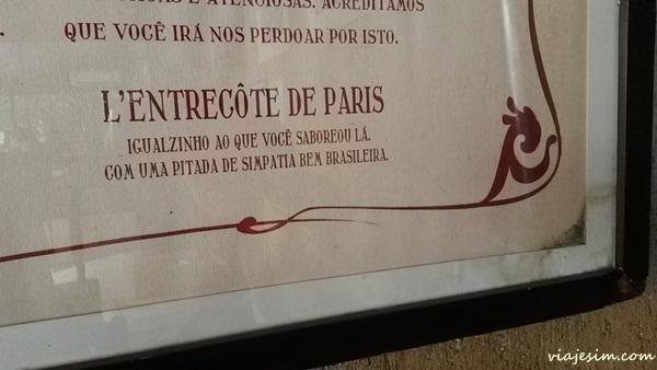 L´entrecote de paris restaurante são paulo 001