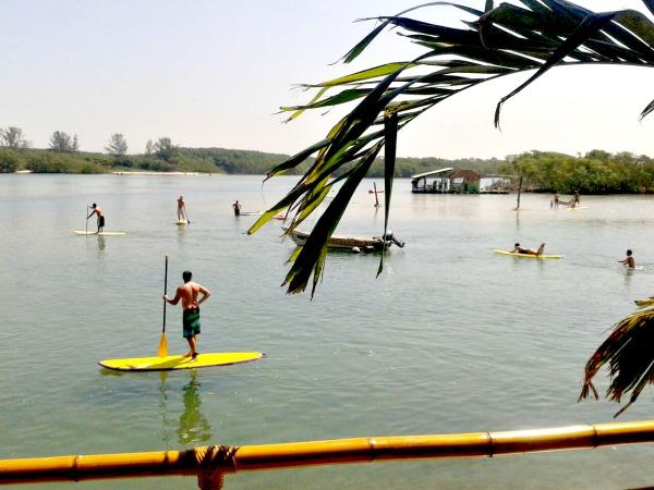 Stand Up Paddle na restinga da Marambaia