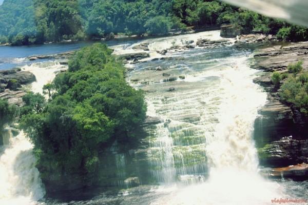 Cachoeira Salto Angel Venezuela Canaima Up