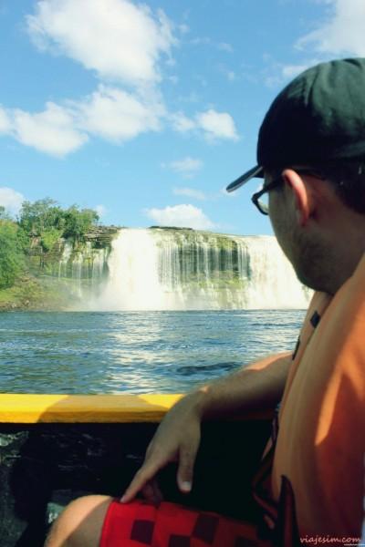 Salto Ángel Up Paradise Falls Venezuela Canaima