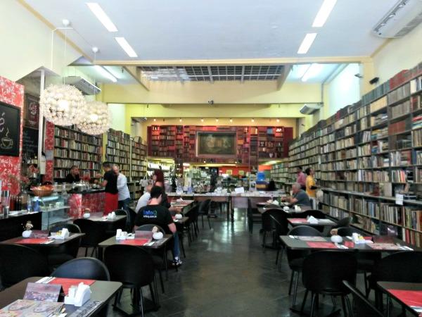 Café Olé sebo Centro do Rio