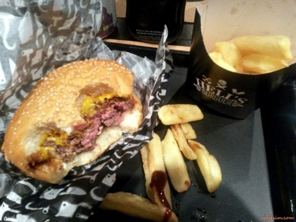 Hell's Burger hamburgueria Botafogo