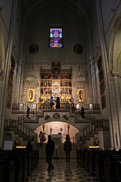 catedral um dia em madrid dicas