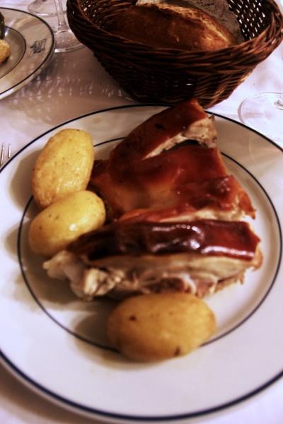 restaurante el botin madrid leitão