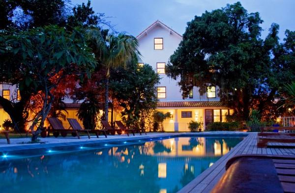 Hotel Santa Teresa Rio noite núpcias lua de mel