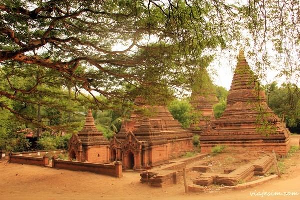 Myanmar Birmânia Burma Bagan Yangon 1143