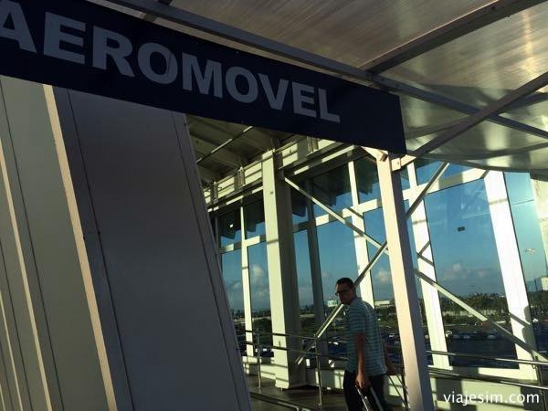 Como ir do aeroporto ao centro de porto alegre aeromovel