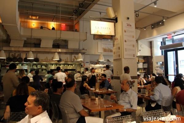 NY onde comer Eataly New York