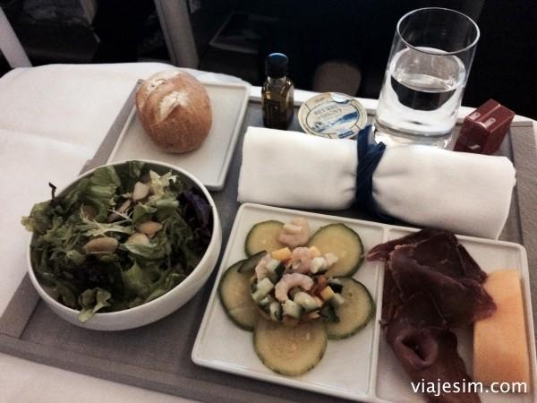 Como é voar na classe business da Air France do Rio a Paris IMG_7782