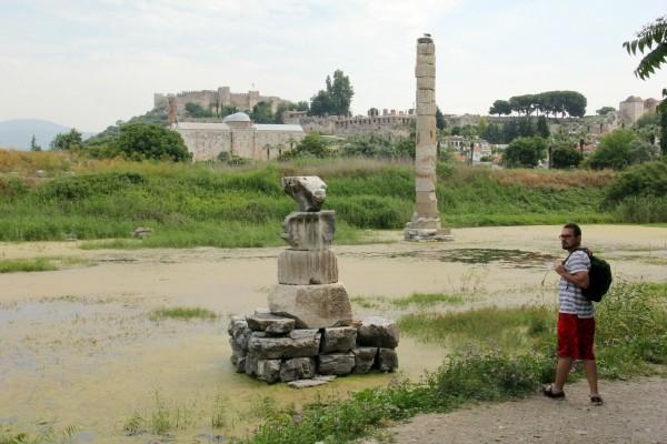 Éfeso na Turquia como chegar a Éfeso qual cidade dormir bate-volta Istambul IMG_4989