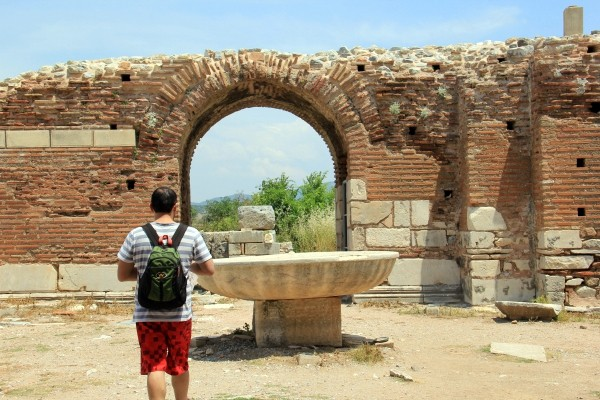 Éfeso na Turquia como chegar a Éfeso qual cidade dormir bate-volta Istambul IMG_5043