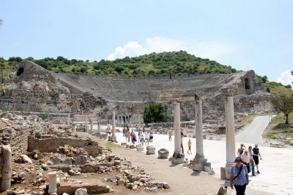 Éfeso na Turquia como chegar a Éfeso qual cidade dormir bate-volta Istambul IMG_5061