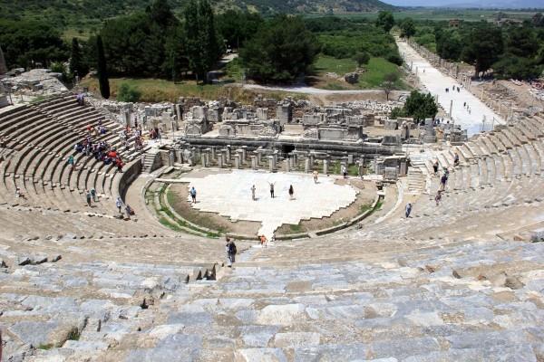 Éfeso na Turquia como chegar a Éfeso qual cidade dormir bate-volta Istambul IMG_5075