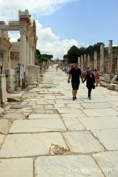 Éfeso na Turquia como chegar a Éfeso qual cidade dormir bate-volta Istambul IMG_5123