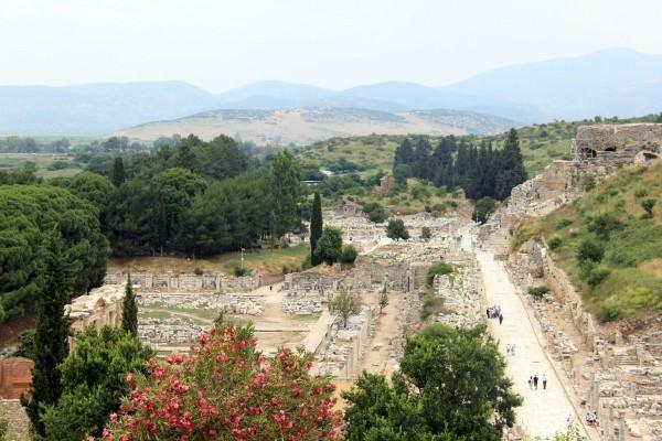 Éfeso na Turquia como chegar a Éfeso qual cidade dormir bate-volta Istambul IMG_5133