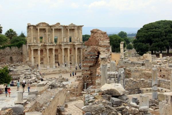 Éfeso na Turquia como chegar a Éfeso qual cidade dormir bate-volta Istambul IMG_5140