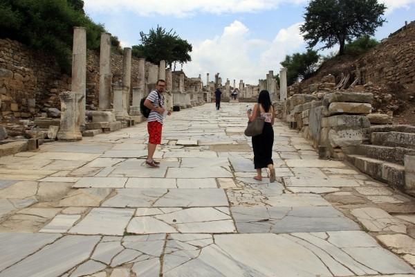 Éfeso na Turquia como chegar a Éfeso qual cidade dormir bate-volta Istambul IMG_5146