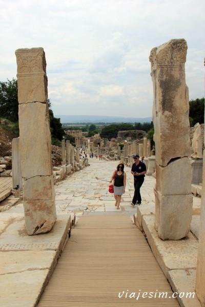 Éfeso na Turquia como chegar a Éfeso qual cidade dormir bate-volta Istambul IMG_5154