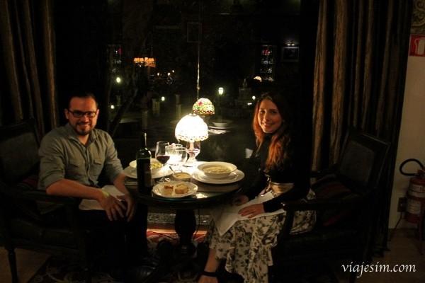 jantar romântico no Vale dos Vinhedos Bistrô Sabrage
