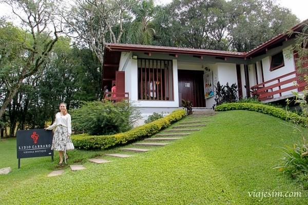 Vale dos Vinhedos: visita à Lídio Carraro Vinícola Boutique