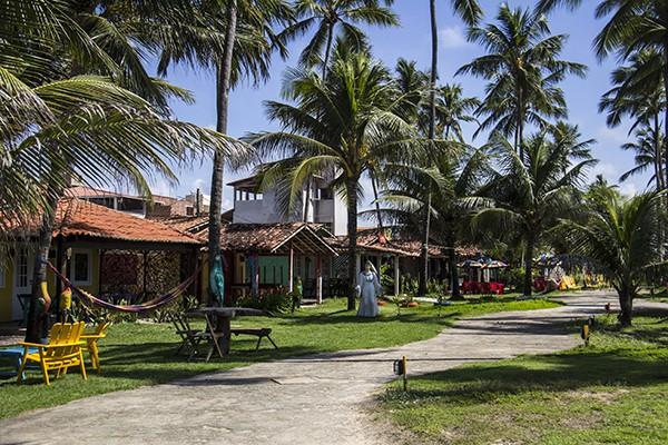 Onde comer em Porto de Galinhas Restaurante João - entrada