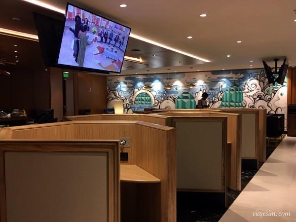sala Vip no Galeão: Plaza Premium Lounge