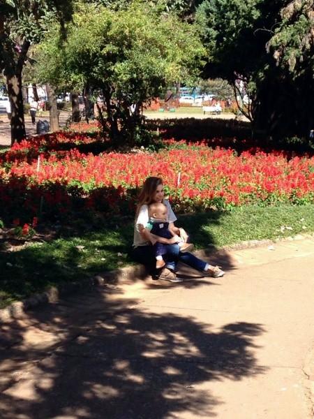 Viagem a Belo Horizonte e Inhotim com criança