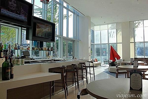 Onde ficar em Miami Hotel para enxoval do bebe em Miami Atton Brickell Miamionde ficar lobby 2