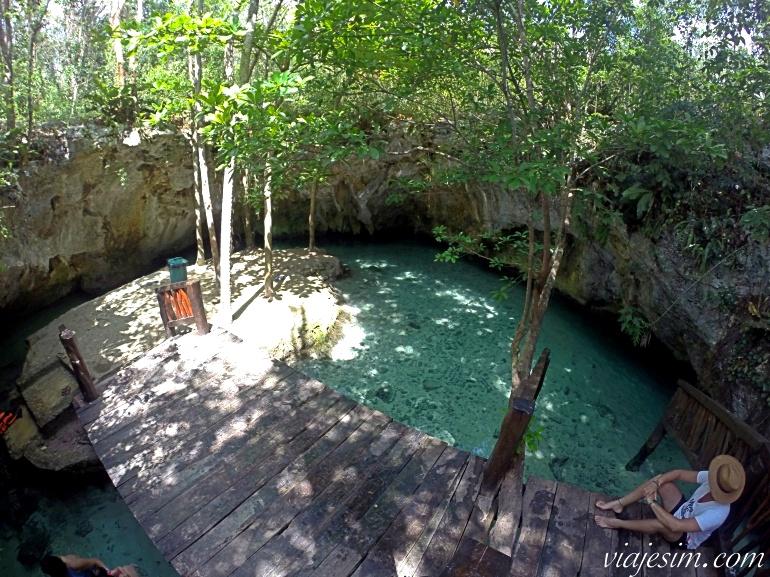 Grand Cenote em Tulum