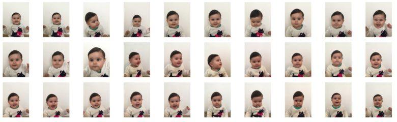 Fotos de bebê para passaporte