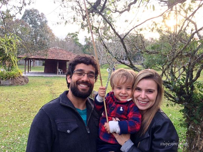 Família com criança em Bento Gonçalves