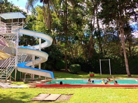 Toboágua do Hotel Fazenda São Moritz